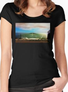 surfrise Women's Fitted Scoop T-Shirt