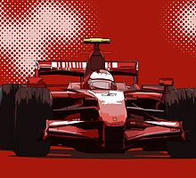 F1 Championship Cars - Kimi F2007 by Tom Clancy