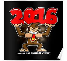 2016, Year of the Pantless Monkey  Poster