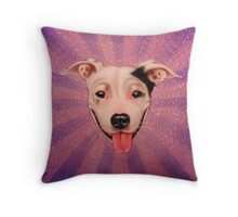 Radient Jimmie Sue  Throw Pillow