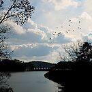 Carter's Lake Dam by Scott Mitchell