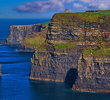 Ireland. County Clare. Cliffs of Moher. by vadim19