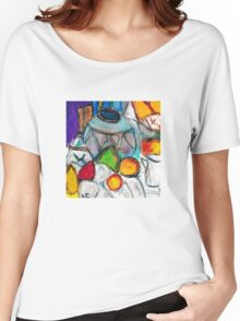 Pottery & Fruit (after Cezanne) Women's Relaxed Fit T-Shirt