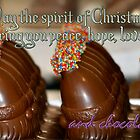 Xmas Chocolate - Card by Bami