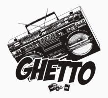 Ghetto Blaster  by Paul Welding