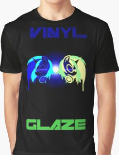 Vinyl Scratch and Glaze Graphic T-Shirt