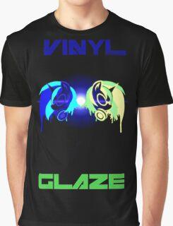 Vinyl Scratch and Glaze Graphic T-Shirt