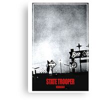 State Trooper Nebraska Canvas Print