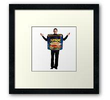 Spam Costume Framed Print