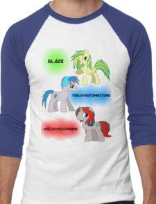 The Elements of Music Men's Baseball ¾ T-Shirt