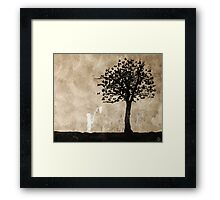 catching Framed Print