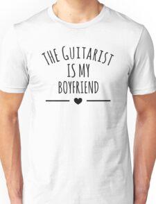the guitarist is my boyfriend Unisex T-Shirt