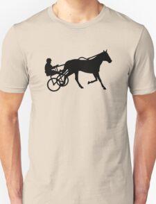 Harness trotting race Unisex T-Shirt