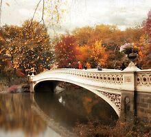 Bow Bridge Autumn by Jessica Jenney