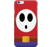 Shy Guy Feeling Shy iPhone Case/Skin
