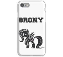 Brony- Fluttershy iPhone Case/Skin