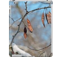 Snowy Branch iPad Case/Skin