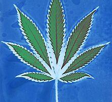 Hemp Lumen #8 Leaf Marijuana/Cannabis/Weed by FineArtHemp