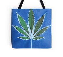 Hemp Lumen #8 Leaf Marijuana/Cannabis/Weed Tote Bag