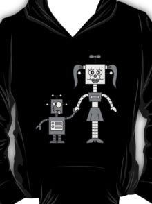 Funny Robot Couple T-Shirt