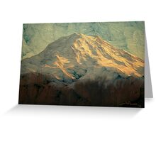 Mt Rainier, Washington Greeting Card