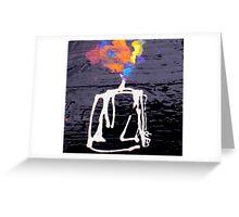 the way iis lit Greeting Card