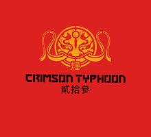 Crimson Typhoon (gold and black) Unisex T-Shirt