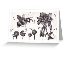 Bee Happy 2 Greeting Card