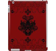 Roses & Rotten Apples - Gothic Black iPad Case/Skin