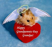 Grandparents Day Grandpa Hamster by jkartlife