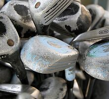 Golf Clubs for Sale by Allison Patel