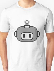 Cute Robot Child Face T-Shirt