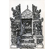 Bali : Market Temple Photographic Print
