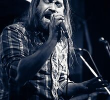 Russell Parlett of Beggar's Orchestra by HoskingInd