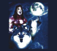 Ultimate Warrior with Wolves by samohtbackwards