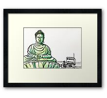 Japan : Hyogo Daibutsu Framed Print