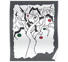 Christmas Twisted Tree Poster