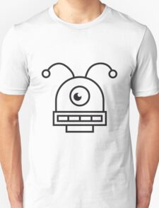 Crazy Robot Face T-Shirt