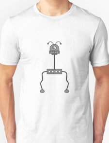 Crazy Robot Design T-Shirt