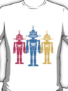 Cool Robots Team T-Shirt