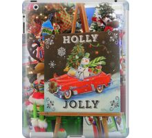 Christmas Holly Jolly Sign iPad Case/Skin