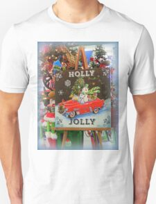 Christmas Holly Jolly Sign T-Shirt
