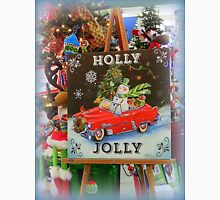 Christmas Holly Jolly Sign Unisex T-Shirt