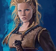 Lagertha by feuilly