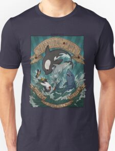 Swimming Anime Unisex T-Shirt