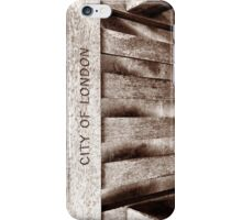 city of london iPhone Case/Skin