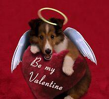Be my Valentine Angel Sheltie Puppy by jkartlife