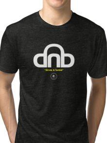 DNB (Drum N Bass) V2 Tri-blend T-Shirt