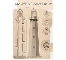 Montauk Point Light. Photographic Print