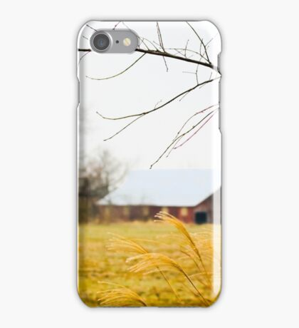 BACK OF THE FIELD iPhone Case/Skin